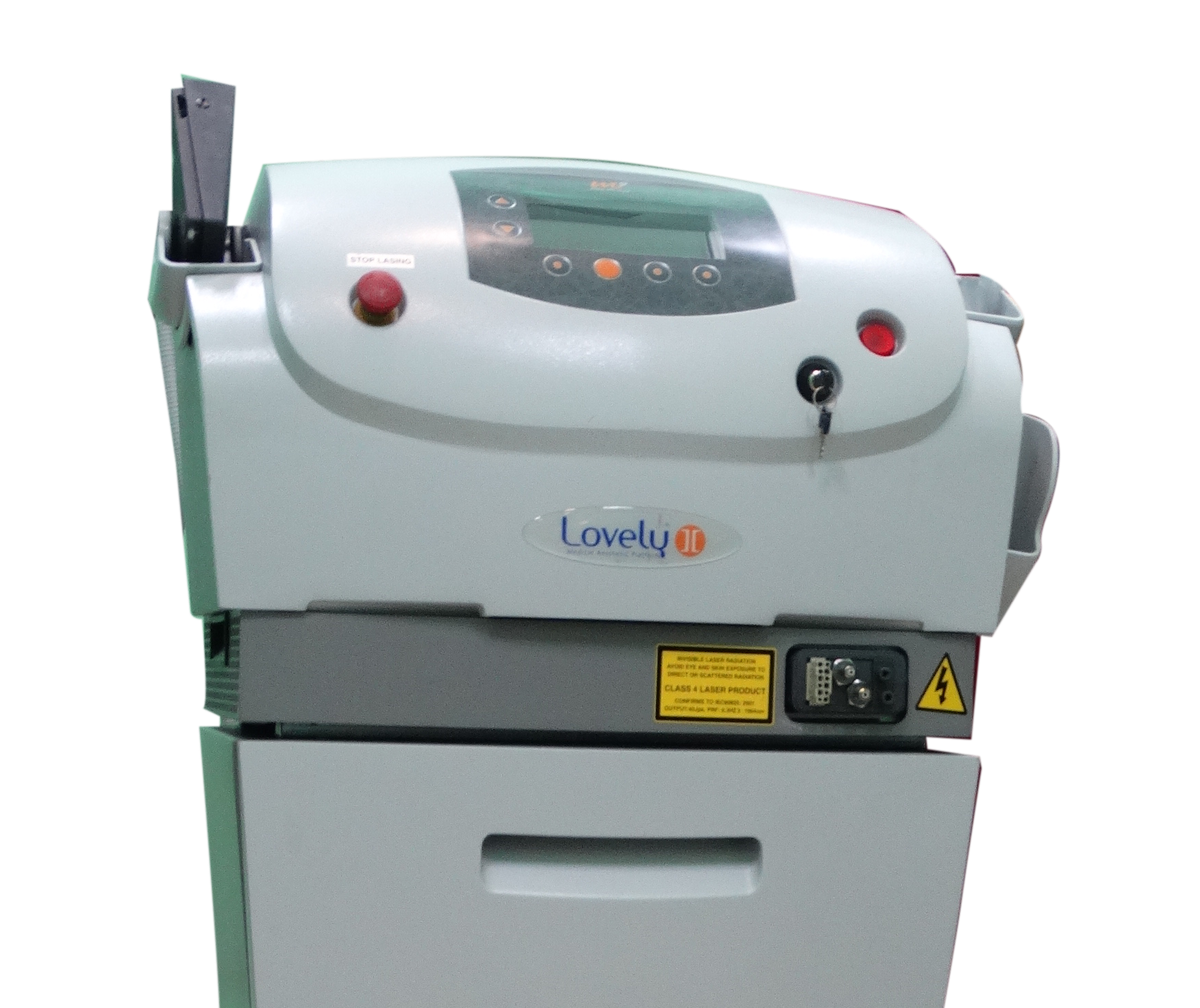 equipo rejuvenecimiento facial laser